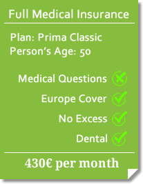 aLC Health - Prima Classic quote for 50 year-old. Click to proceed to online purchase!