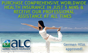 ALC Health is a small but excellent international private medical insurer, underwritten by IMG and therefore accepted in Germany.
